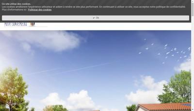 Site internet de Midi Logement