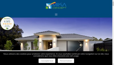 Site internet de Mikaconcept