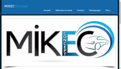 Site internet de Mikec Concept