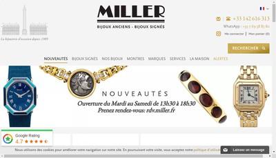 Site internet de Miller