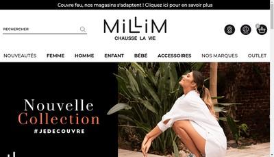 Site internet de Millim