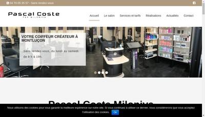 Site internet de Pascal Coste Montlucon