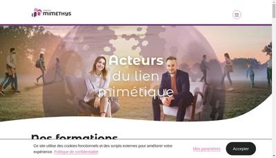 Site internet de Institut Mimethys