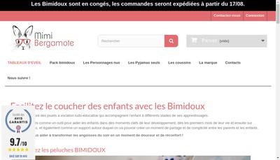 Site internet de Mimi Bergamote