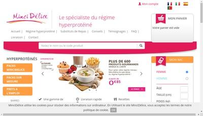 Site internet de MinciDélice France