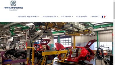 Site internet de Meunier Industries