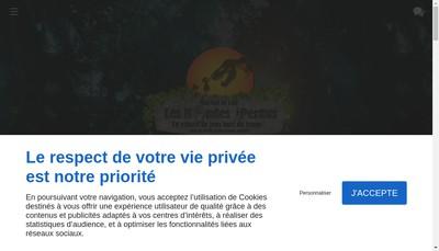Site internet de Mini Golf du Lion
