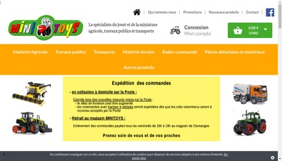 Site internet de Minitoys