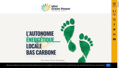 Site internet de Breizh Green Power