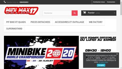 Site internet de Minimax 17