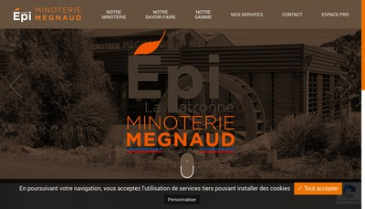 Site internet de Megnaud Freres