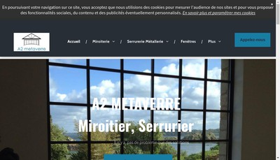 Site internet de A2 Metaverre