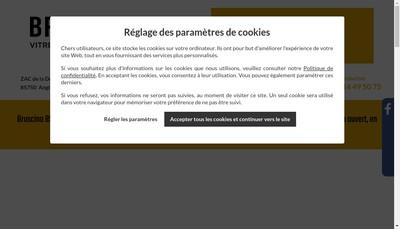 Site internet de Bruscino 85