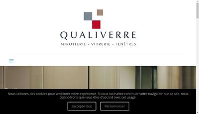 Site internet de Miroiterie d'Alessandri