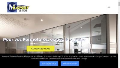 Site internet de Miroiterie Launay