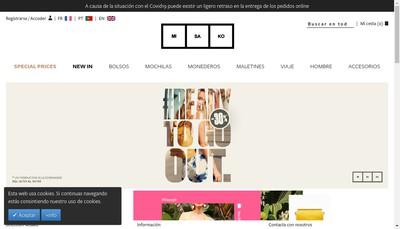 Site internet de Misako