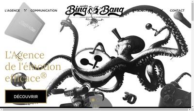 Site internet de Mister Bing Bang