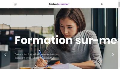 Site internet de Mistra Formation