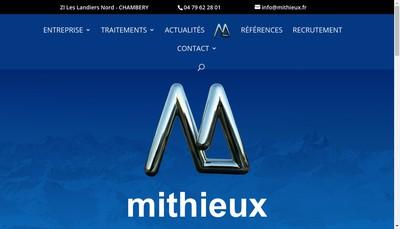 Site internet de Mithieux