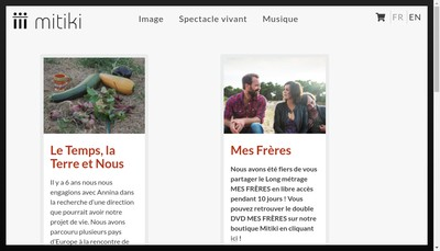 Site internet de Mitiki