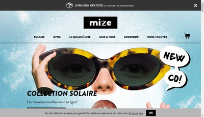 Site internet de Mize