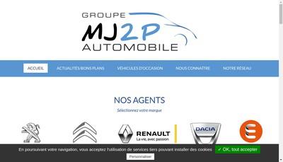 Site internet de Saint Aubin Automobiles