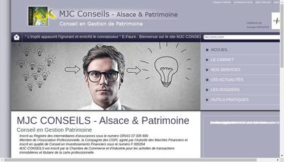Site internet de Mjc Conseils