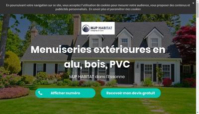 Site internet de Mjp Habitat
