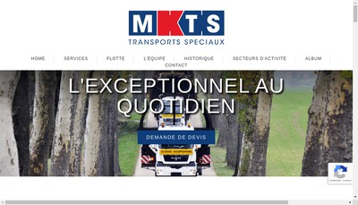 Site internet de Mkts