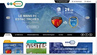 Site internet de Le Mans Stadium