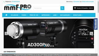 Site internet de Mmf-Pro