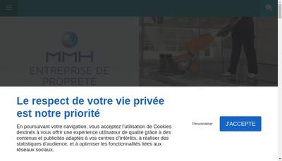 Site internet de Mmh Nimes