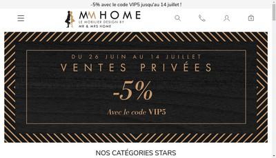 Site internet de Mr And Mrs Home