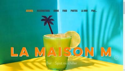 Site internet de La Maison Mere