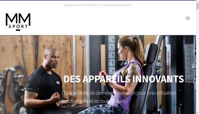 Site internet de Mm Sport