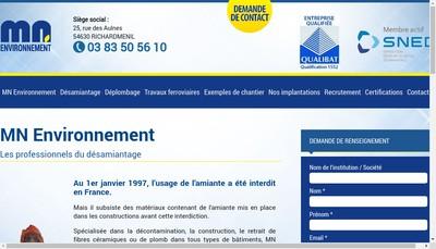 Site internet de Mn Environnement