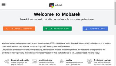 Site internet de Mobatek