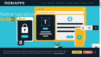Site internet de Mobiapps