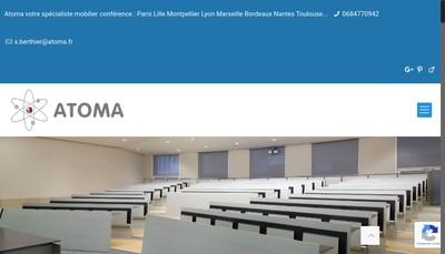 Site internet de Atoma