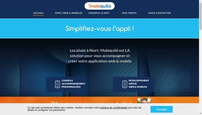 Site internet de Mobiquite