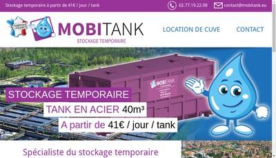 Site internet de Mobi Tank