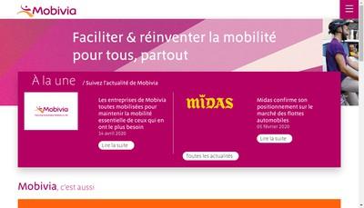 Site internet de Mobivia