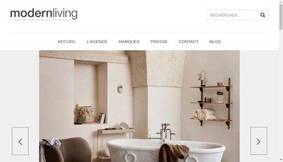 Site internet de Modernliving