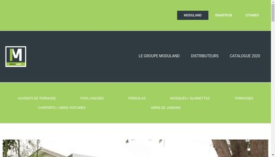 Site internet de Moduland