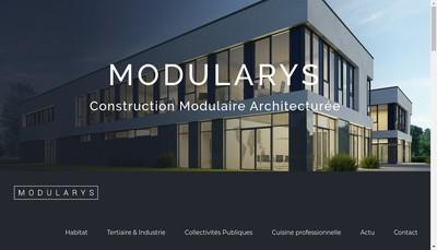 Site internet de Modularys