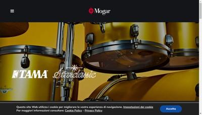 Site internet de Mogar Music France