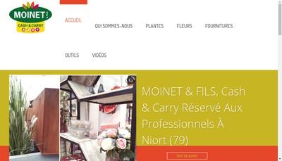 Site internet de Groupe Moinet