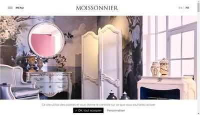 Site internet de Moissonnier