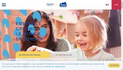 Site internet de Speaking-Agency F