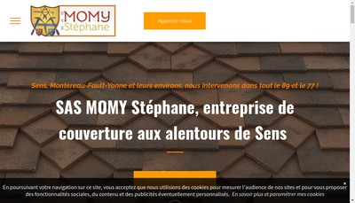 Site internet de Momy Stephane